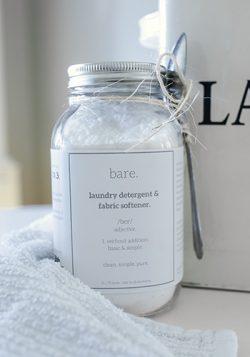 Laundry Detergent & Fabric Softener