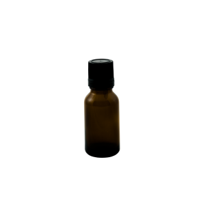 15ml amber round glass bottle with tamper evident dropper cap - Bare Bottling Company - Misses Clean - Marketplace - 341 Merritt Street - 905-380-0347 - Order Yours Today