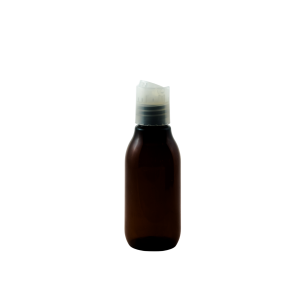2oz amber plastic dispense cap - Bare Bottling Company - Misses Clean - Marketplace - 341 Merritt Street - 905-380-0347 - Order Yours Today