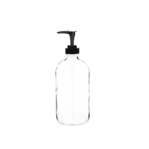 16oz round glass bottle with pump spray - Bare Bottling Company - Misses Clean - Marketplace - 341 Merritt Street - 905-380-0347 - Order Yours Today