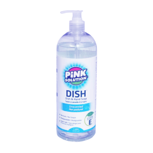 Pink Solution 1 L - Dish and Hand Soap - Misses Clean - Marketplace - 341 Merritt Street - 905-380-0347 - Order Yours Today