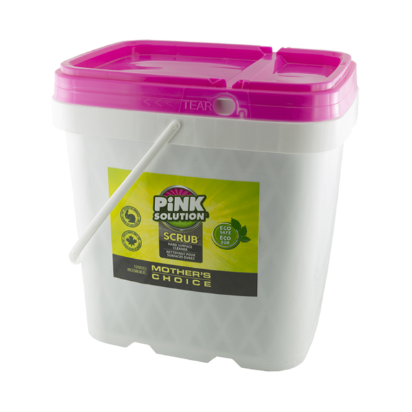 Pink Solution Scrub 7L - Misses Clean - Marketplace - 341 Merritt Street - 905-380-0347 - Order Yours Today